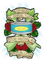 Stop Having a Boring Tuna Tattoo by springloaded