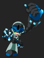 Mighty No. 9 WIP by Advent-Axl