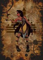 Steampunk Pocahontas by LostSoul-Mumei