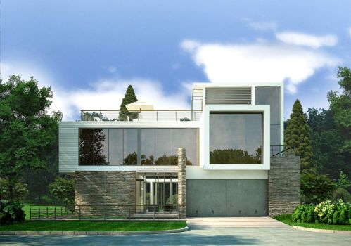 Modern Country Home by zodevdesign