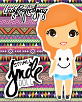 Small Smile Doll Psd'' by LadyPerfectSwag