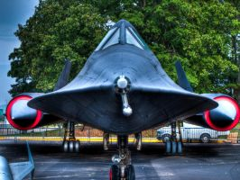 SR-71 Blackbird by soraxtm
