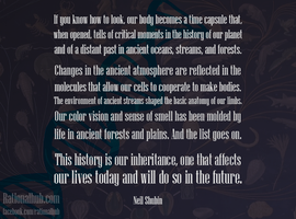 Neil Shubin on our evolutionary past.. by rationalhub