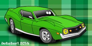 AMC Javelin AMX  Toon by Jetster1