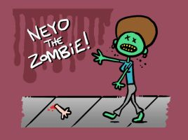Neyo the Zombie by muzski
