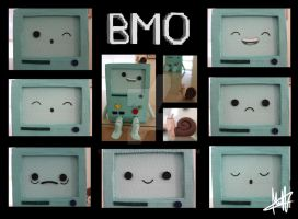 BMO Many Emotions by Macherz
