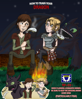 HTTYD - Go Fish by BlueSerenity