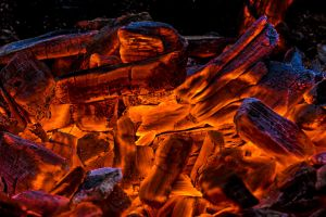 Glowing Coals by ChristophMaier
