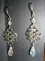 Chainmaille Earrings v2 by Amthyst