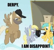 DERPY: I AM DISAPPOINT by Closer-To-The-Sun