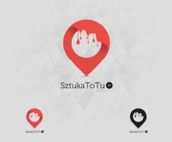 SztukaToTu logotype by WuHaDesign