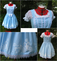 Cinderella Jumper Skirt by sakurafairy