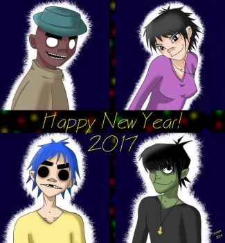 Happy New Year! by Arnen-2014