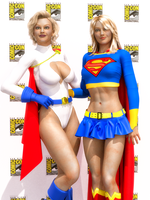 Supergirl PowerGirl Comicon by orionsforge