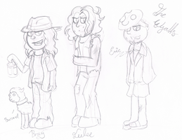 .:[DOODLE] THE WYATTS:. by Maniactheleader