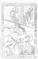 Thor Page 5 Pencils by Theamat