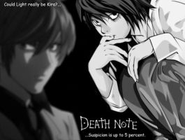 DeathNote Wallpaper by Crimson-Moonshine