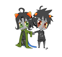 Request: NepetaxKarkat by Squidypus