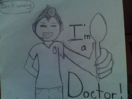 DONT WORRY MARKS A DOCTOR!!!!!!!! by skygirl2