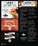 menu and other designs by grazrootz