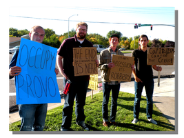 Occupy Provo Protestors by WillFactorMedia