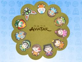 Circle of Avatar by rayraylovesmikeyway