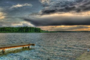 Lake by Athrian