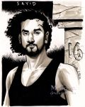 Sayid by mcguan
