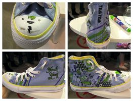 Custom Converse by Par4noid
