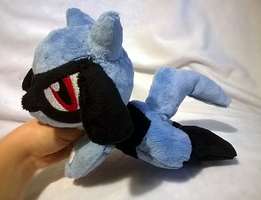 Riolu plush by zukori