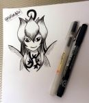 Lillymon (Inktober 2015) by Sailor-Aria