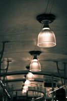 Old tram, Old lamps by capougirl
