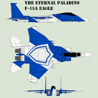 The Eternal Paladins F-15A Eagle by Zhanrae30