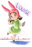Louise Belcher by JammerLea