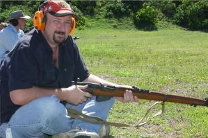 Me with SMLE No1 Mk3 by nedg67