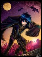 Kaito-The Blue Haired Vampire by xXTyeDyeXx