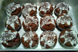 Triple Chocolate Muffins by DoctorTonyStarkWho