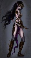 Witch for Warhammer Fantasy by arttry