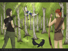 Good Hunting Partners Are Scarce. by Antheacornalynn