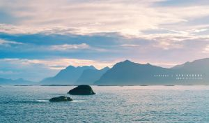 Lofoten in Haze by Stridsberg