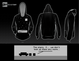 The Stars Hoodie by Shiuman