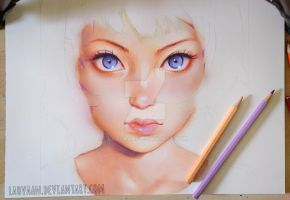 Gyoushi by KR0NPR1NZ in Watercolor WIP by Laovaan