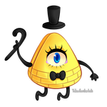 Bill Cipher by YellowFeatherBolt