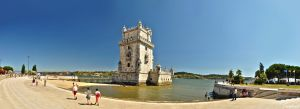 Belem Tower Panoramic by Hollowinme