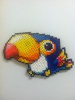 Maplestory Toucan - Perler Art by Brentimous