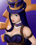 Caitlyn Portrait by Blizzmaster