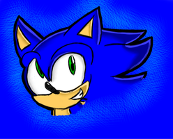 Sonic Doodle by ThreeDaysGrace342