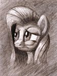 Sad Yellow in Sepia by shoeunit
