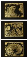 Acid Etched Brass Series by mtomsky