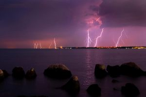 Night Storm Umag by IvanAntolic